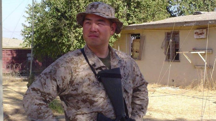 US Marine among activists charged with storming North Korean embassy in Spain as video released