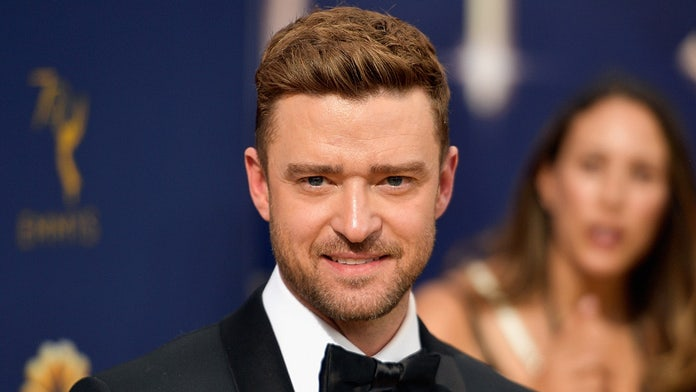 Son of Justin Timberlake, Jessica Biel makes rare appearance at dad's golf tourney