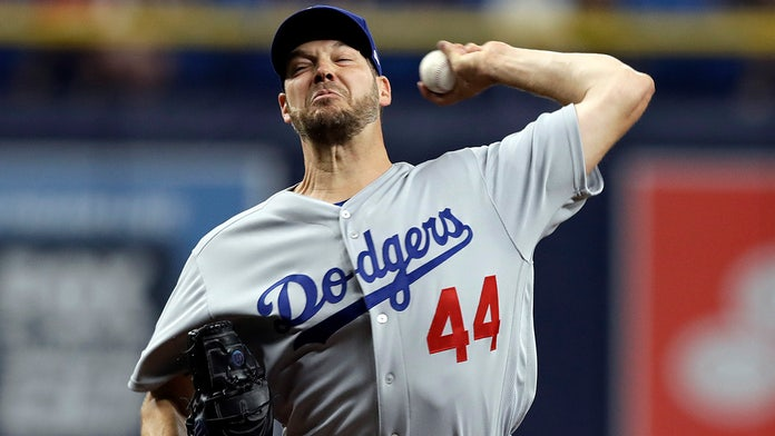 Los Angeles Dodgers' Rich Hill launches into profane tirade after bunt single during shift
