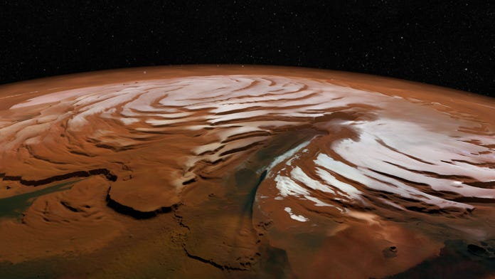 Major Martian ice discovery thrills scientists