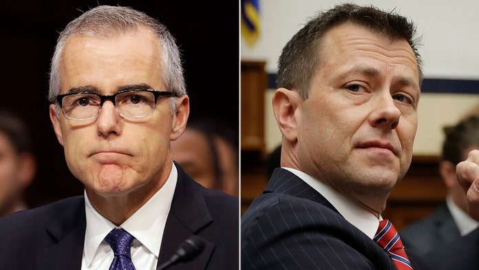 McCabe says he 'made the decision' to remove Strzok from Mueller team: transcript