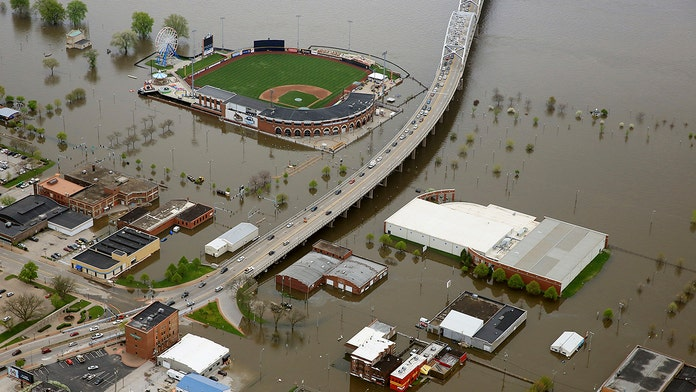 Mississippi River flooding forces minor league baseball team to play 40 of 43 games on road