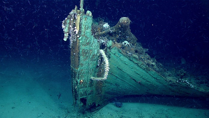 Mysterious 19th-century shipwreck discovered by accident in the Gulf of Mexico