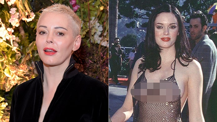 Rose McGowan says iconic nude VMAs dress was her response to being sexually assaulted