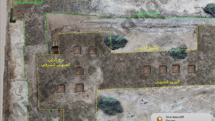 2,600-year-old military castle uncovered in Egypt
