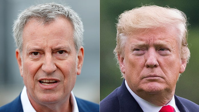 De Blasio on Trump: I 'get under his skin,' probes will 'lead to impeachment'