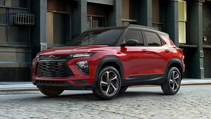 The Chevrolet Trailblazer is being resurrected as a small crossover