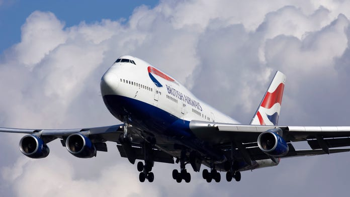 British Airways flight hits extreme turbulence: 'Loads of people hitting the ceiling'