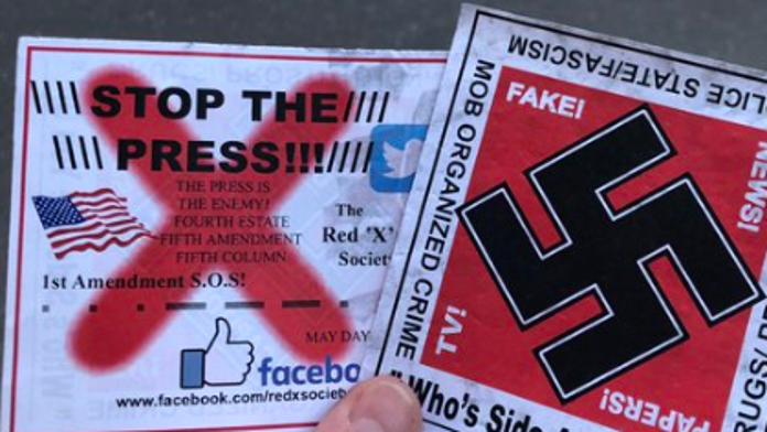 Drone drops anti-media flyers with swastika over Ariana Grande concert: report
