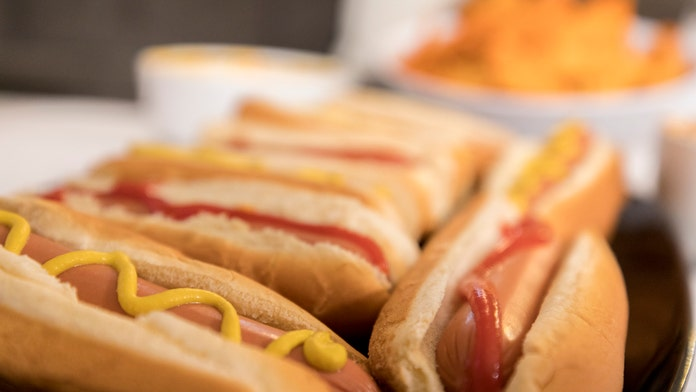 Here is what's inside a store-bought hot dog