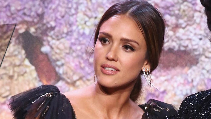 Jessica Alba stopped eating so she wouldn't be 'preyed upon' by men