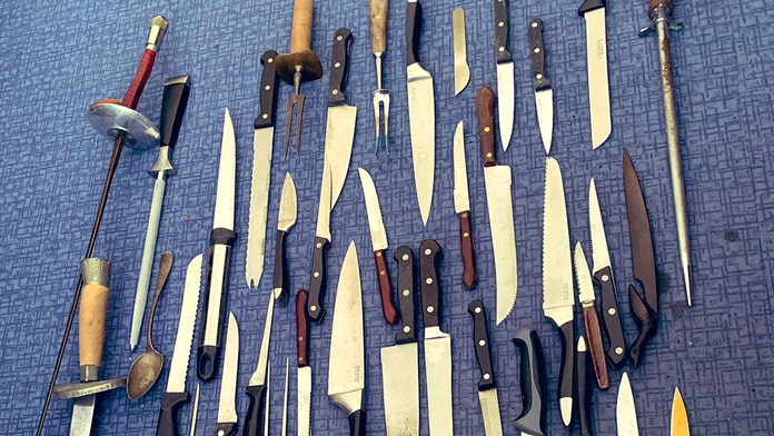 British police station mocked for tweeting photo of dangerous knife collection – that includes a spoon