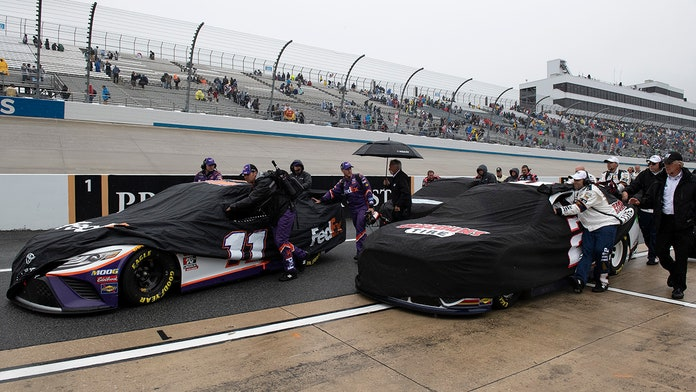 After the rain: When to watch rescheduled NASCAR Dover race