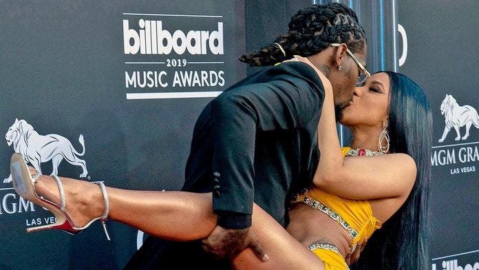 Cardi B denies having a wardrobe malfunction at Billboard