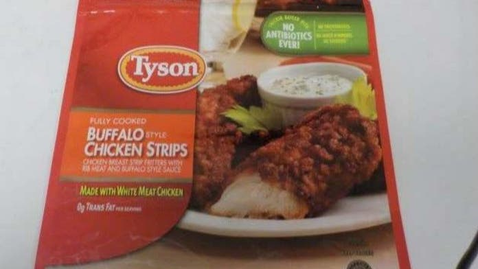 Tyson recalls additional 11 million pounds of frozen chicken strips over possible 'metal' contamination