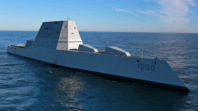 Stealthy USS Zumwalt Destroyer to fire new missiles, laser weapons