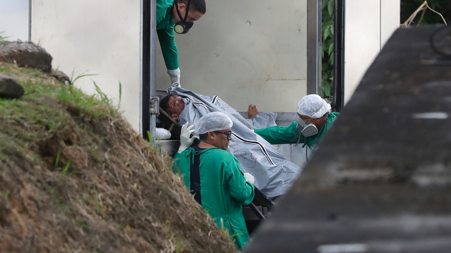 Brazilian officials say 42 inmates found dead at three prisons