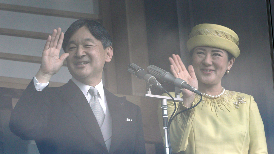 Emperor greets public for 1st time since enthronement