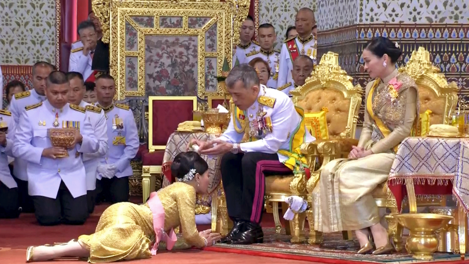 Newly crowned Thai king begins 2nd day of coronation events | Fox News