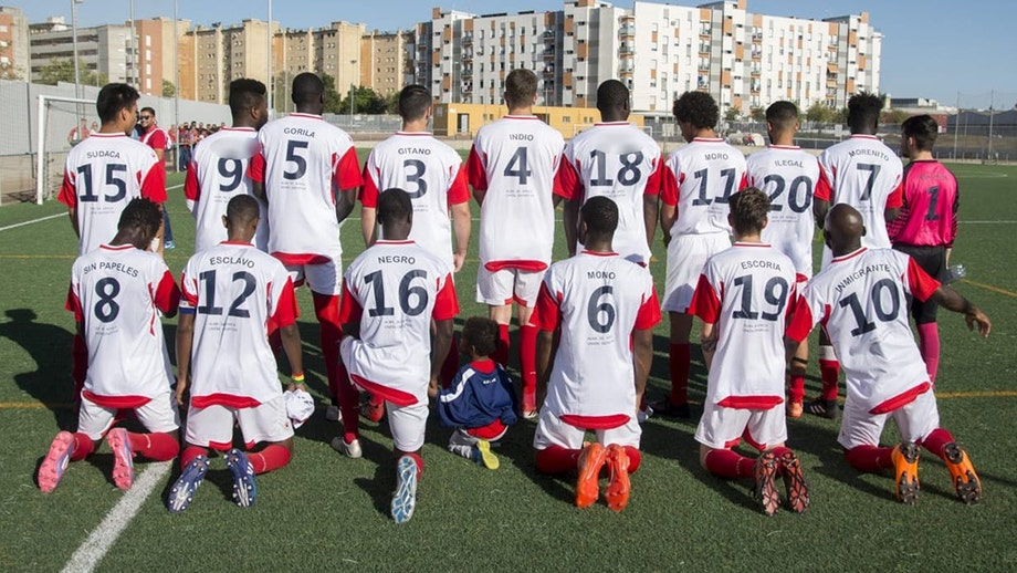 c68d0fe19 Spanish soccer club prints slurs on jersey backs to combat racial abuse