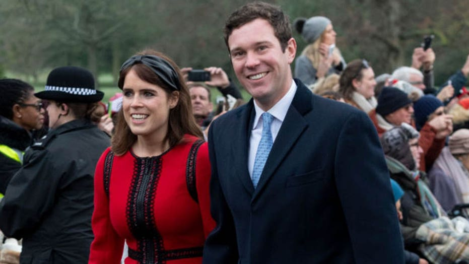 Princess Eugenie, husband Jack Brooksbank reveal newborn son's name