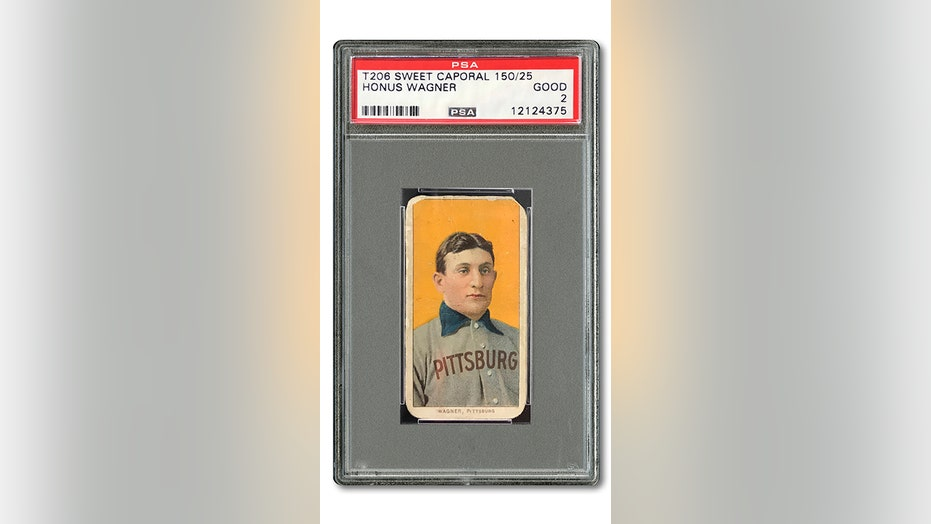 Honus Wagner Baseball Card Sells For 12 Million Fox News