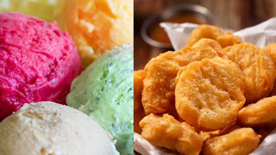 Rolled Chicken Nugget Ice Cream Is A Thing Now Fox News