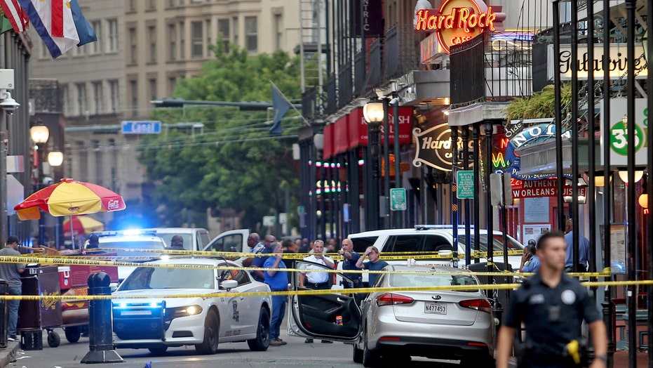 Wrong-way driver shot, wounded by police on Bourbon Street in New