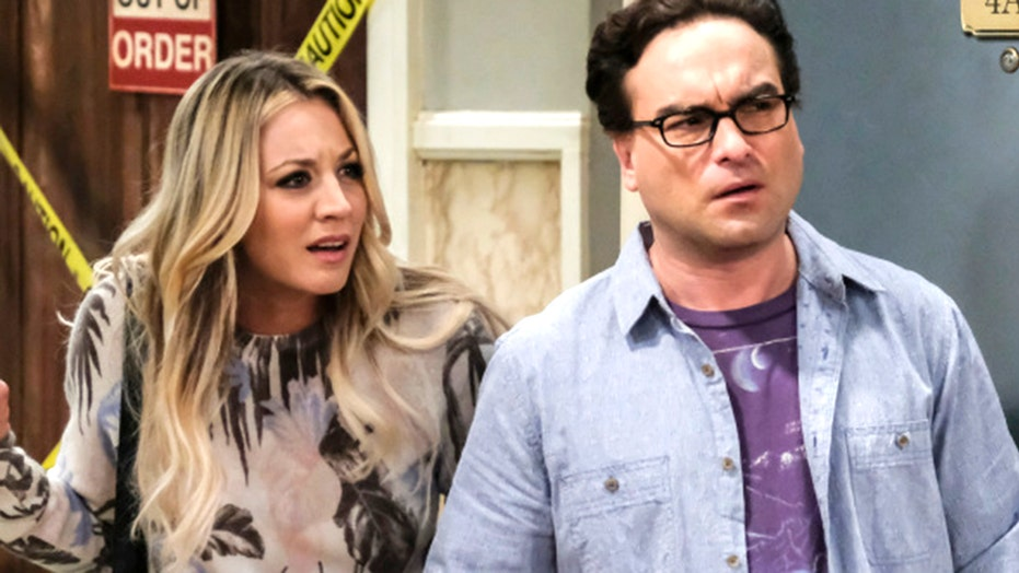 'Big Bang Theory' star Kaley Cuoco talks filming sex scenes with ex Johnny Galecki