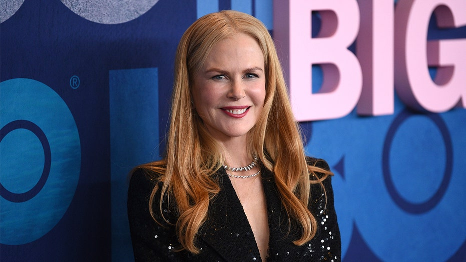 Nicole Kidman turns bashful when discussing her husband, Keith Urban's lyrics about their sex life
