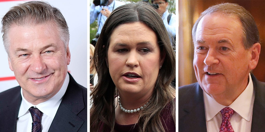 Alec Baldwin calls Sarah Huckabee Sanders a 'mouthpiece for facism' during nasty feud with father
