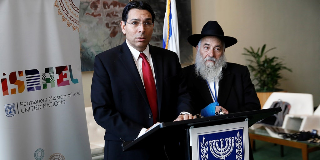 Israel's UN envoy calls on world to 'declare war' on anti-Semitism