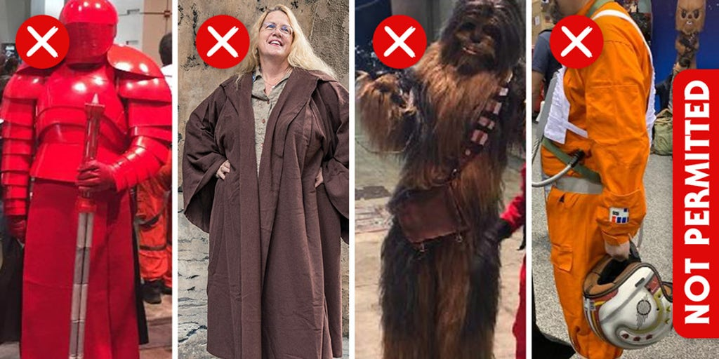 Disney releases dress code for Star Wars: Galaxy's Edge: No full character suits