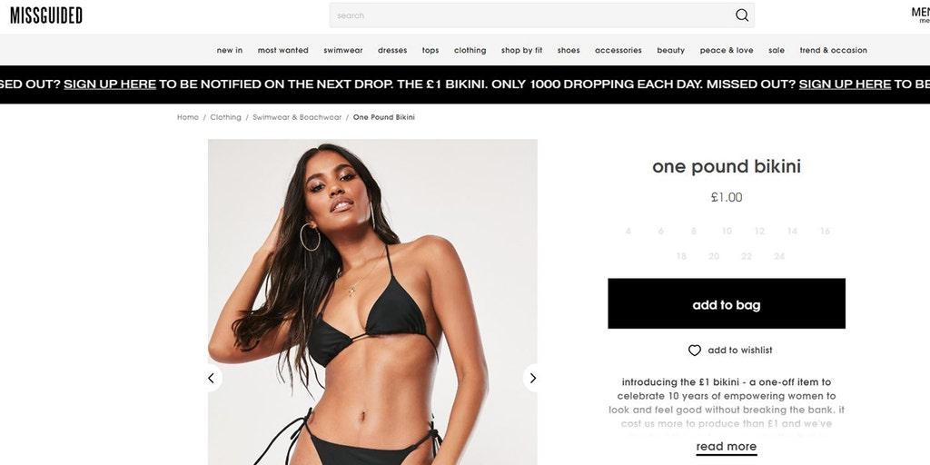 1249344fc9 Shoppers slam fashion retailer over cheap bikini: 'Disgusting, questionable  ethics'   Fox News