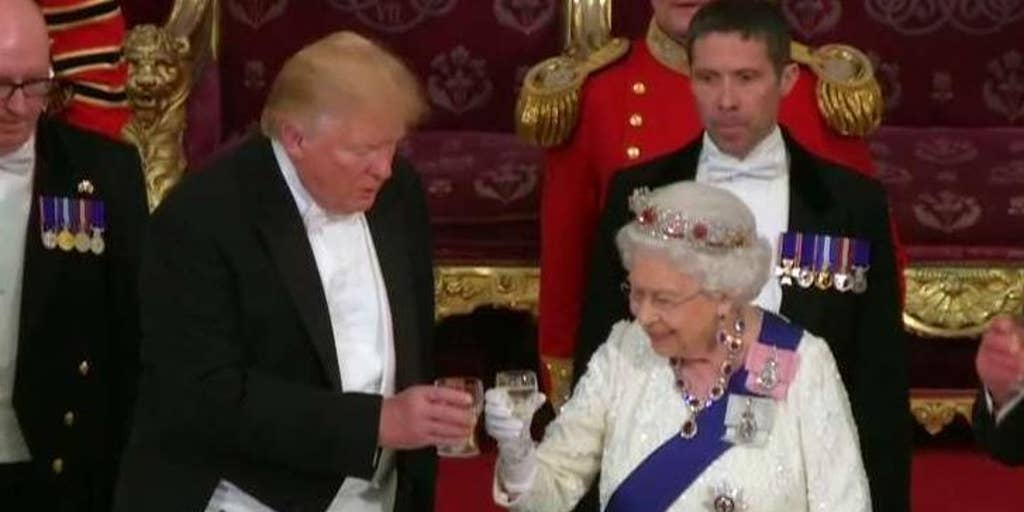 078cf5e6b0cd4 Trump, Queen Elizabeth exchange gifts during state visit: Here's a ...