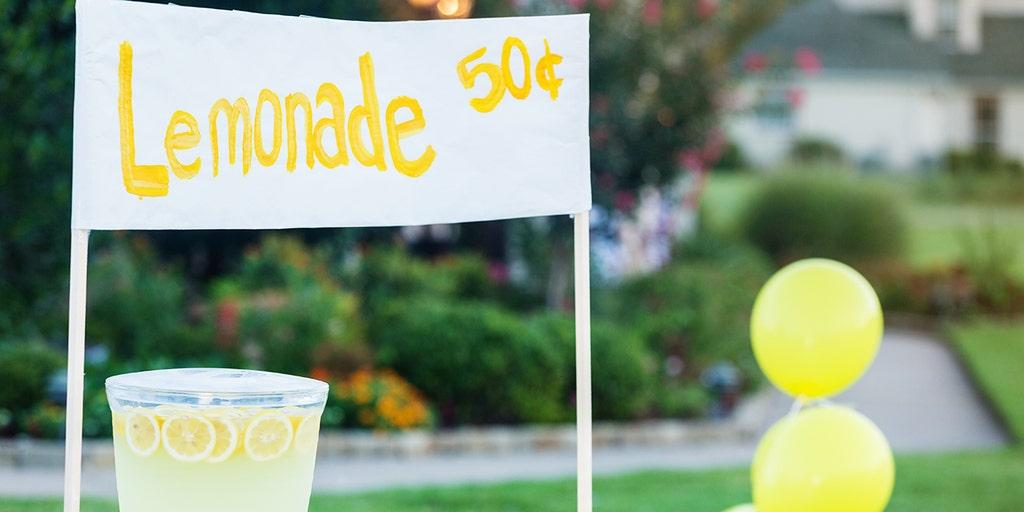 Texas governor bill legalizing kids' lemonade stands