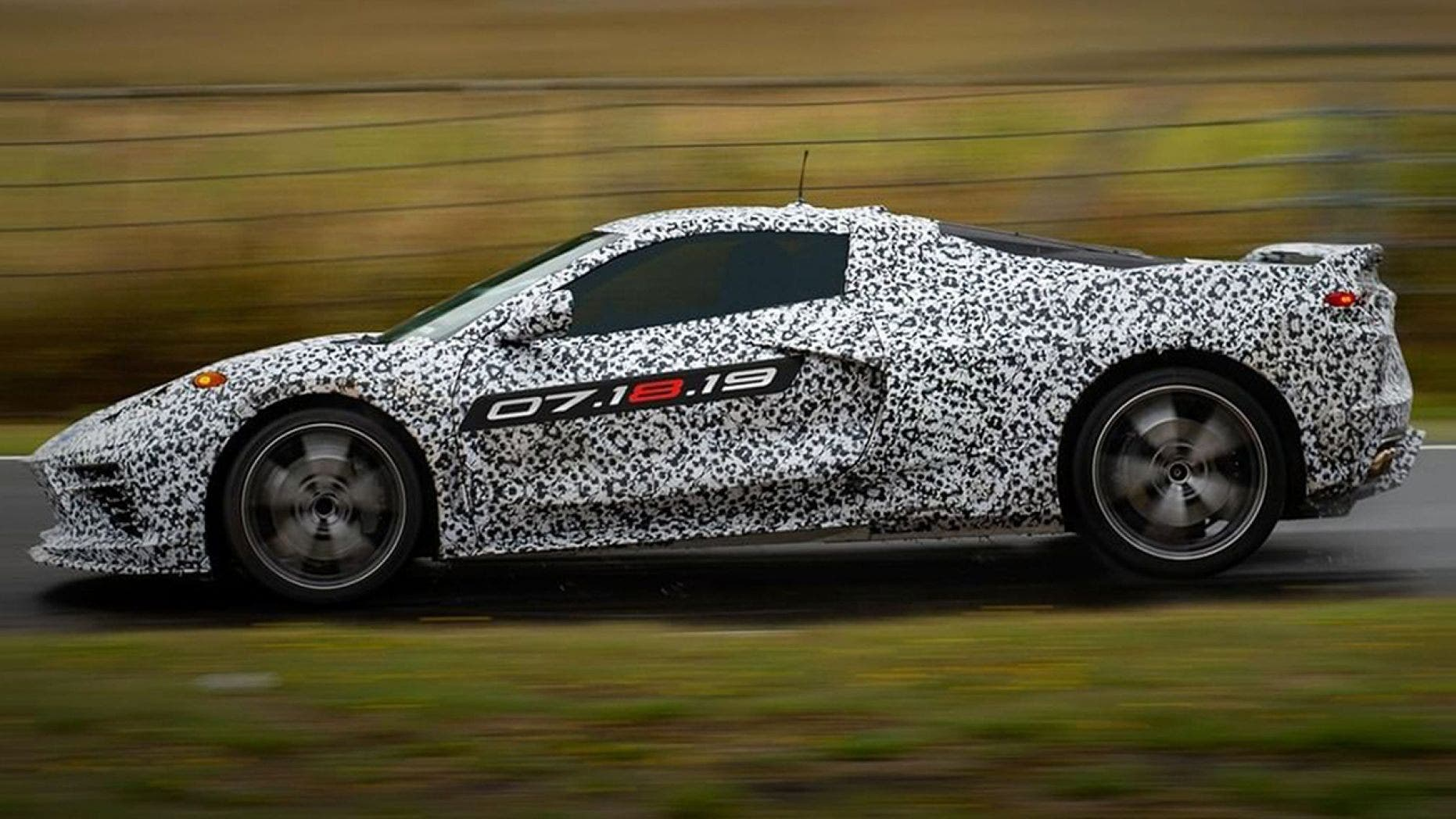 Mid engine Corvette