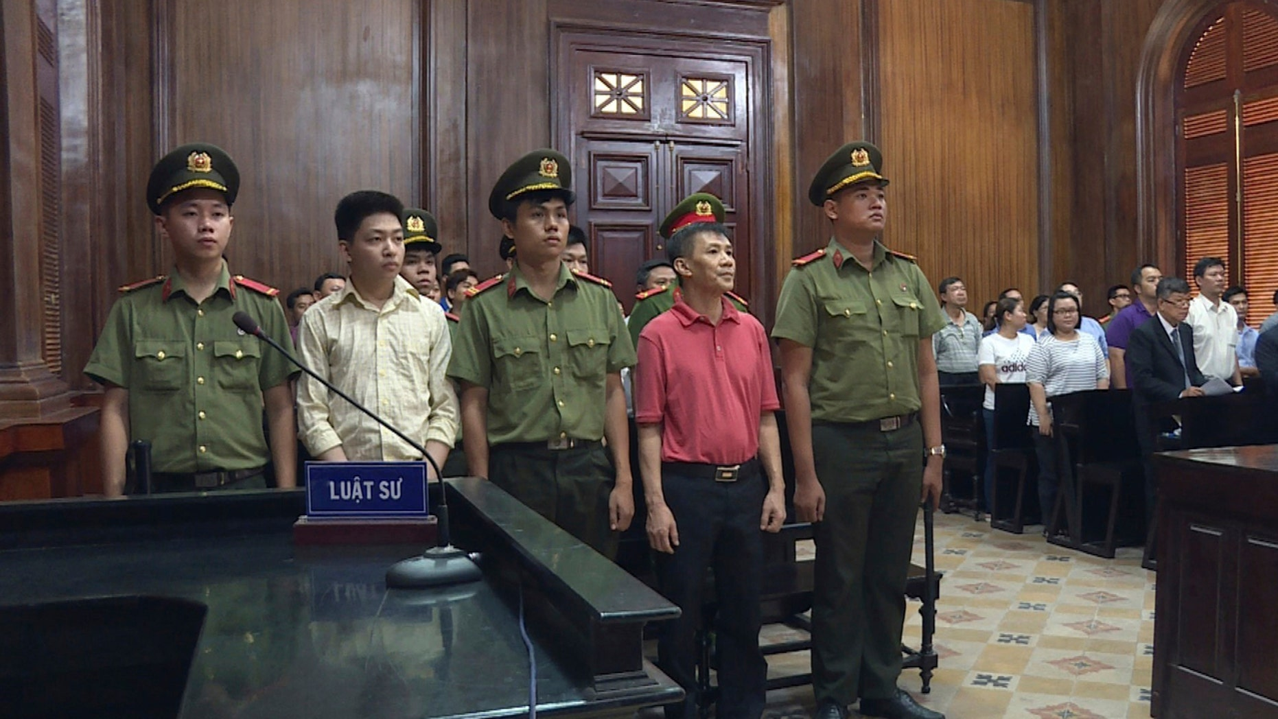 """Michael Nguyen was sentenced to 12 years in prison in Vietnam for """"attempting to overthrow the state."""""""