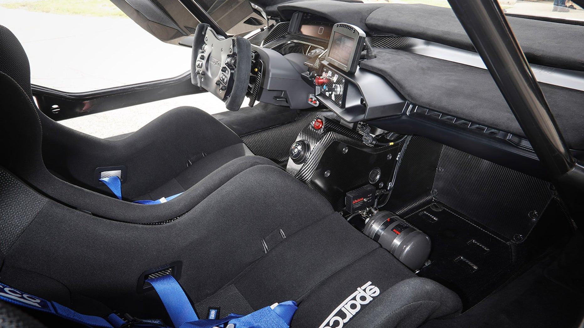 first million dollar Ford interior