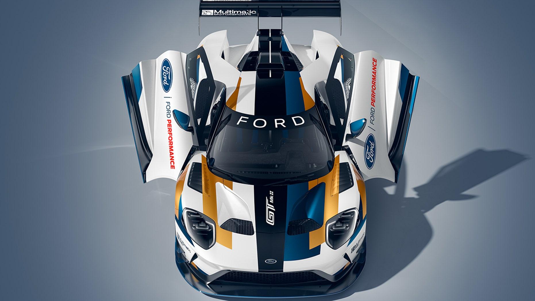 First Million Dollar Ford-Ford GT MK II