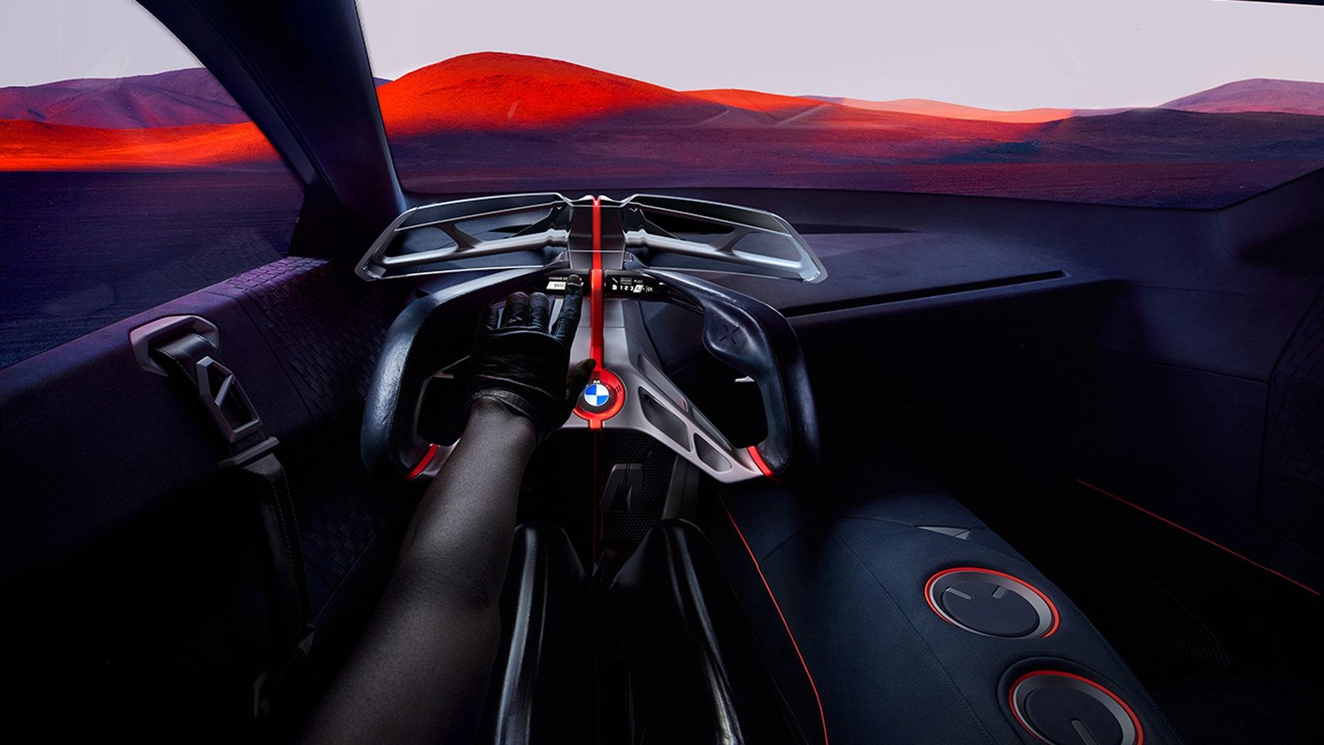 BMW M Next interior