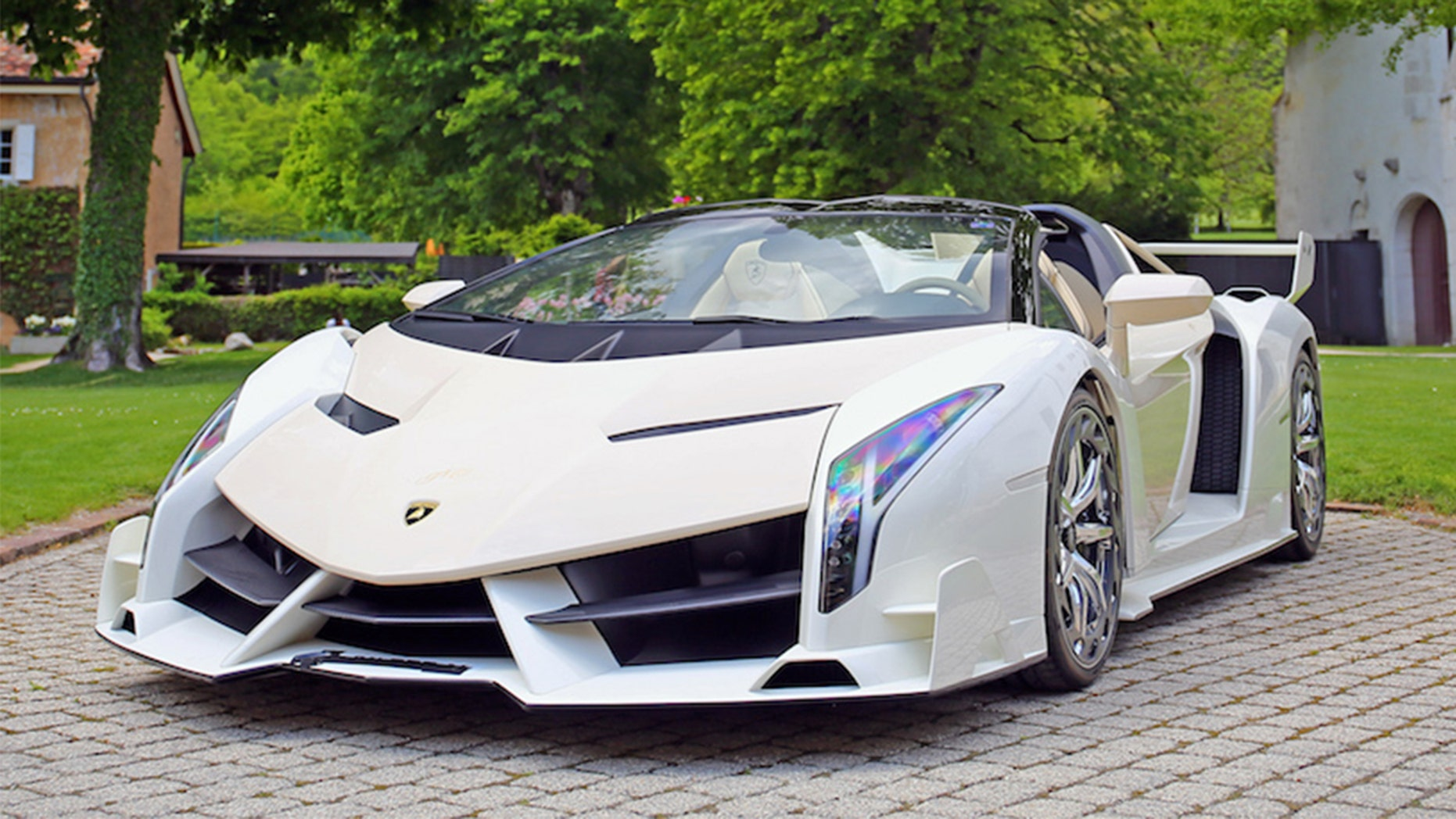 Seized $13 Million Supercar Stash-Lamborghini Veneno