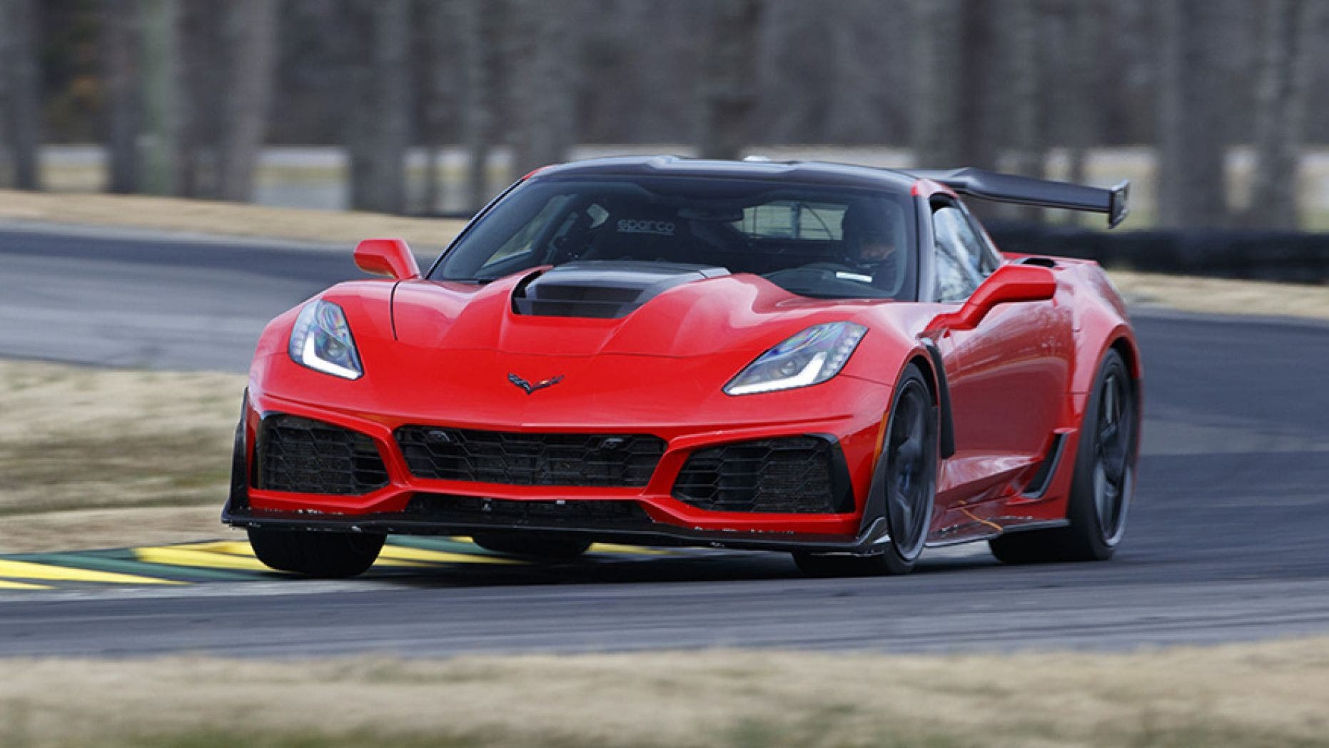 Most Powerful American Cars-2019 Chevrolet Corvette ZR1