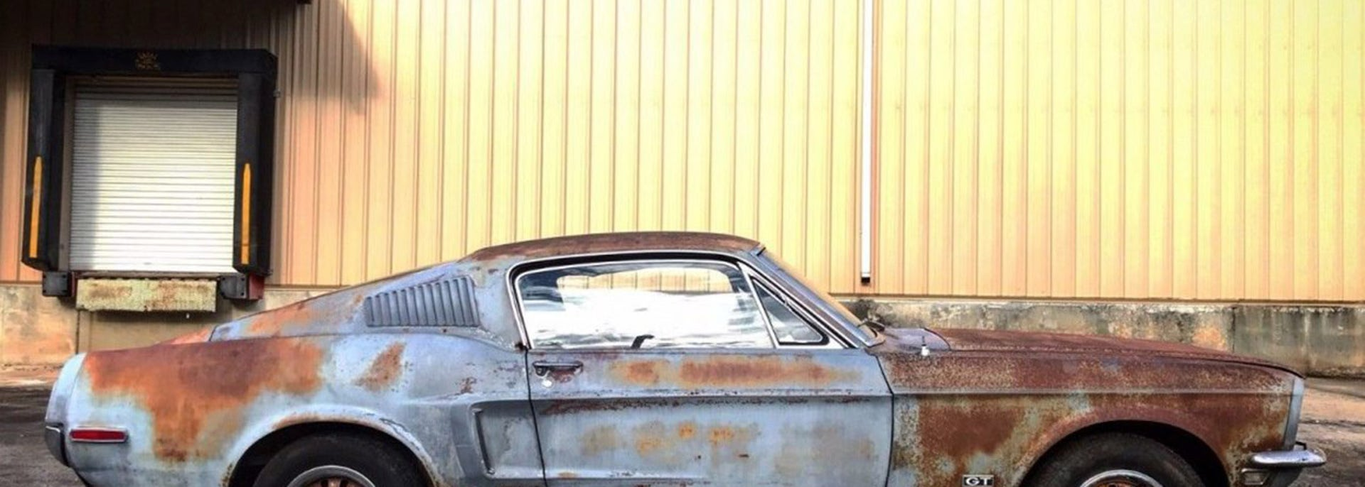 1968 Ford Mustang that was parked over 40 years sold with