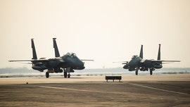 US squadron of F-15E fighters arrive in UAE amid Iran tensions