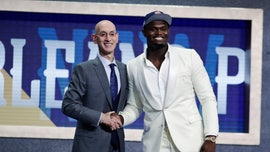 WATCH: Top NBA Draft pick Zion Williamson gets emotional when talking about his mom after being selected