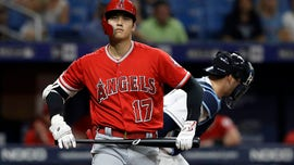 Fan snags foul ball off bat of Angels' Shohei Ohtani, gives it to Ohtani fan