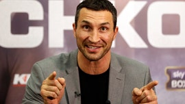 Boxing legend Wladimir Klitschko rescued from sea after yacht catches fire