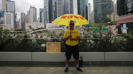 The Latest: Hong Kong leader Lam to speak at news conference