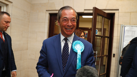 UK man fined for hurling milkshake at Brexiteer Nigel Farage